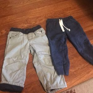 Boys 2T pants Gymboree and Carters